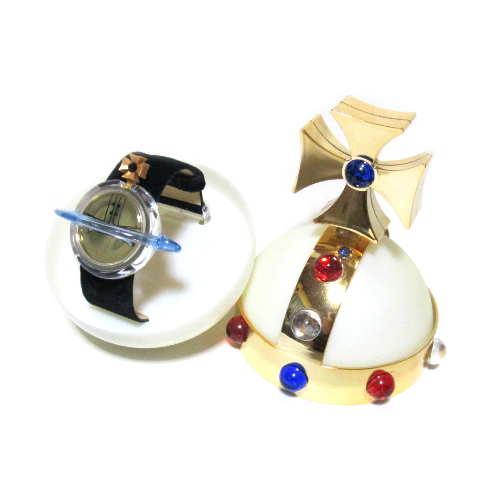 【新古品】 Vivienne Westwood×Swacth ヴィヴィアンウエストウッド×スウォッチ オーブスペシャルパッケージウォッチ (ORB 腕時計 限定) 100915 【中古】