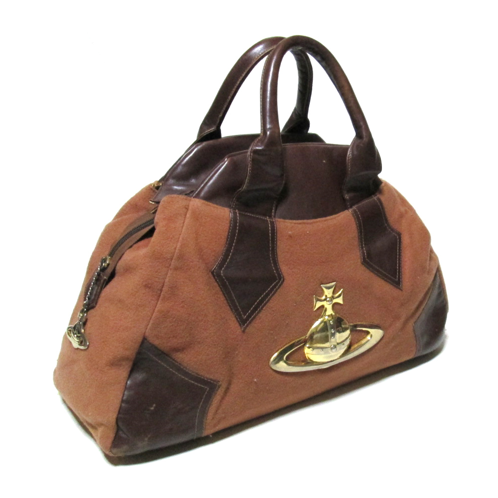 Giant Aube Yasmin Bag Tea Orb Braccialini ブラッチャリーニ In The Discontinuance Of Making 90 S Vintage Vivienne Westwood 90s Made Vivien