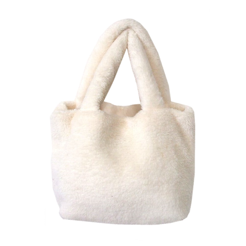 bd890a08e500 (white bag wristband) with the JILL STUART Jill Stewart fur tote bag jewels  and ornaments bracelet 103705