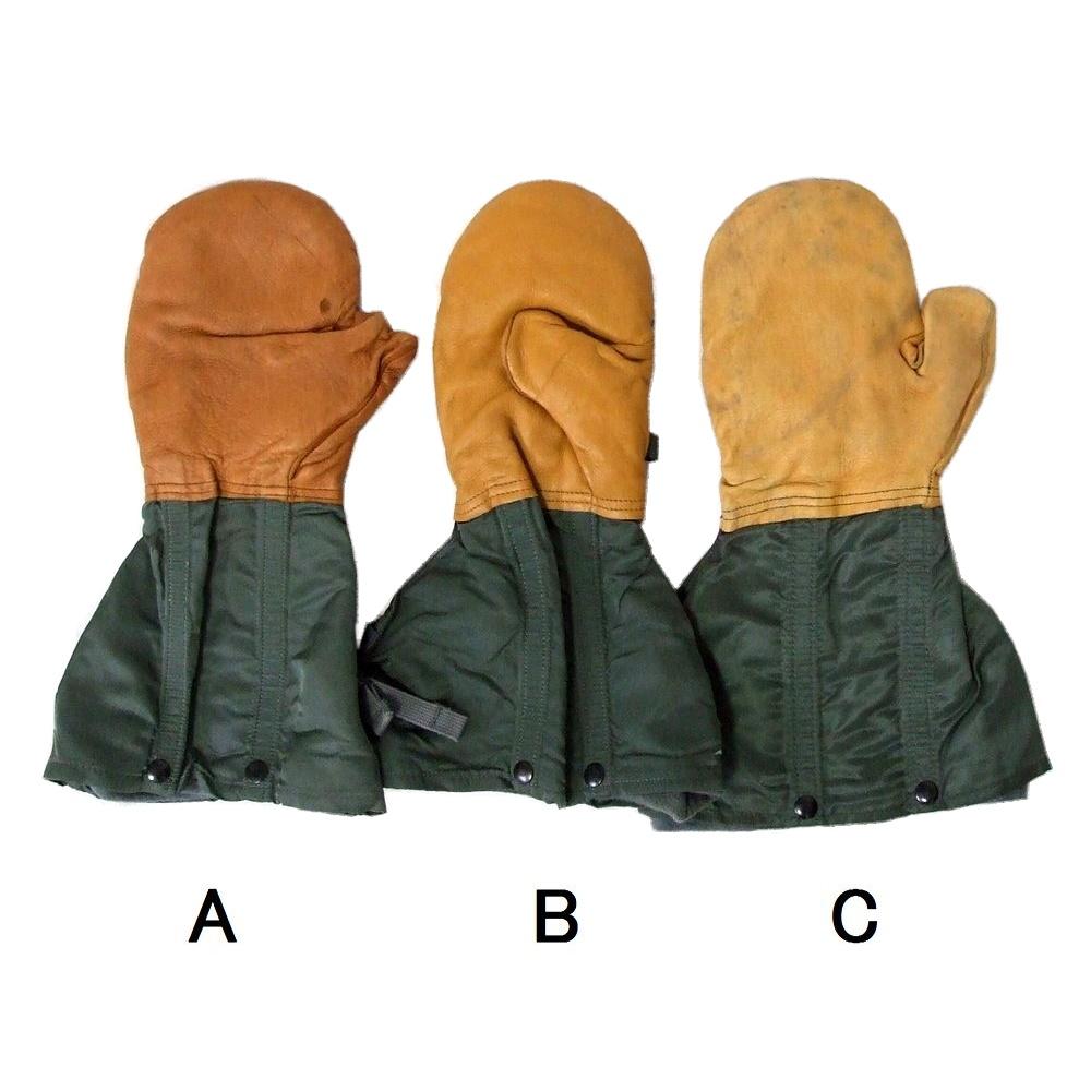USAF アメリカ合衆国空軍 レザーグローブ.皮手袋 (ミルスペック 米軍放出 アーミー ミリタリー ) 103965 【中古】