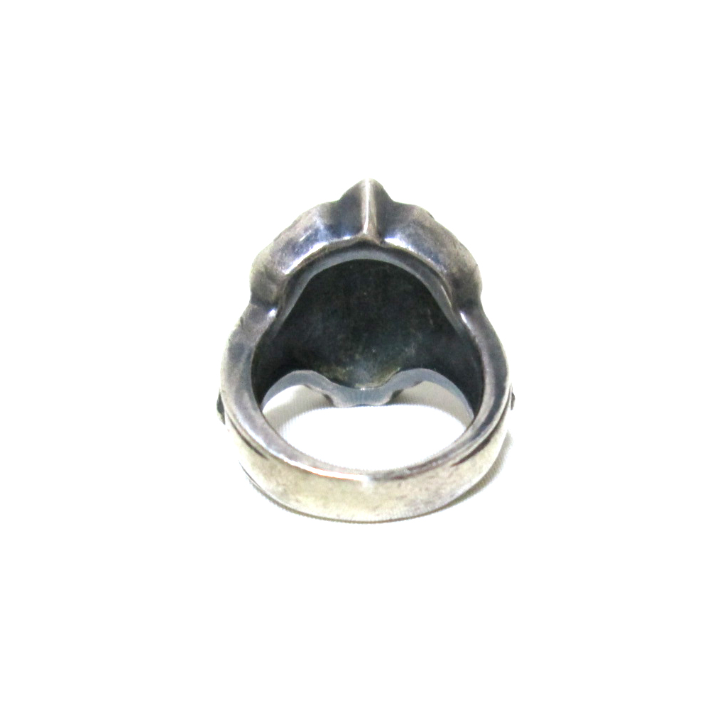 """Discontinuance of making Jean Paul GAULTIER Jean-Paul Gaultier """"9"""" emblem  silver ring (ring) 104307"""