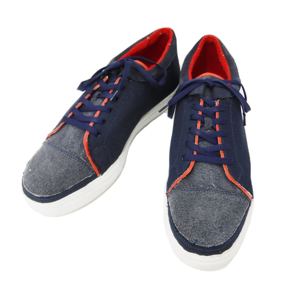 ea3ce7c8513b4 Maison de Fous メゾンドフォース  22000+TAX mesh canvas sneakers 104426 ...