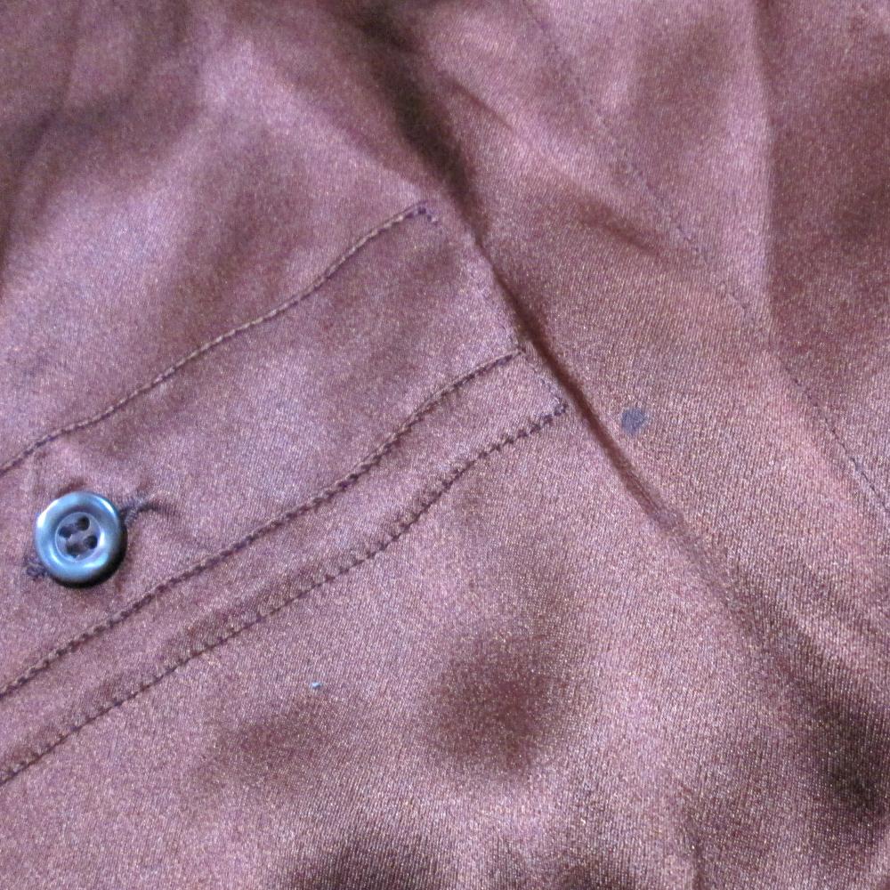 f7297797d776d5 ... Silk blouse (Bordeaux shirt silk) made in ESCADA エスカーダ