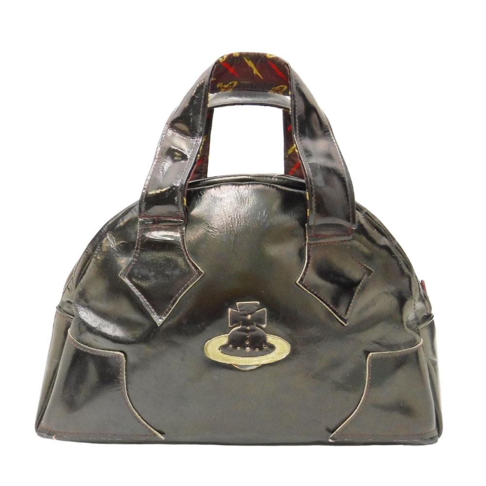 難有 [SALE] 90's vintage Vivienne Westwood ヴィヴィアンウエストウッド クラシック オーブ レザー ヤスミンバッグ 105028 【中古】