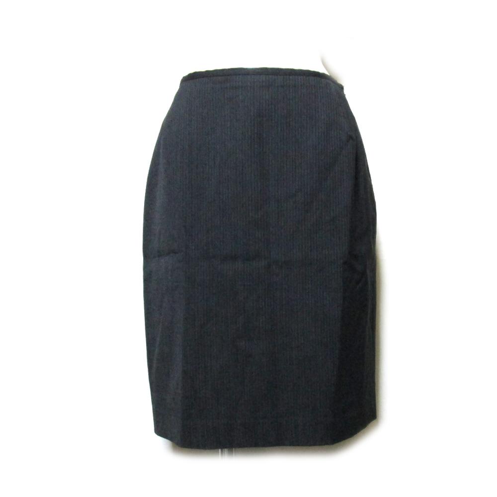 Jean Paul GAULTIER ジャンポールゴルチエ 「40」 ラップスカート (ゴルチェ 黒) 105354 【中古】