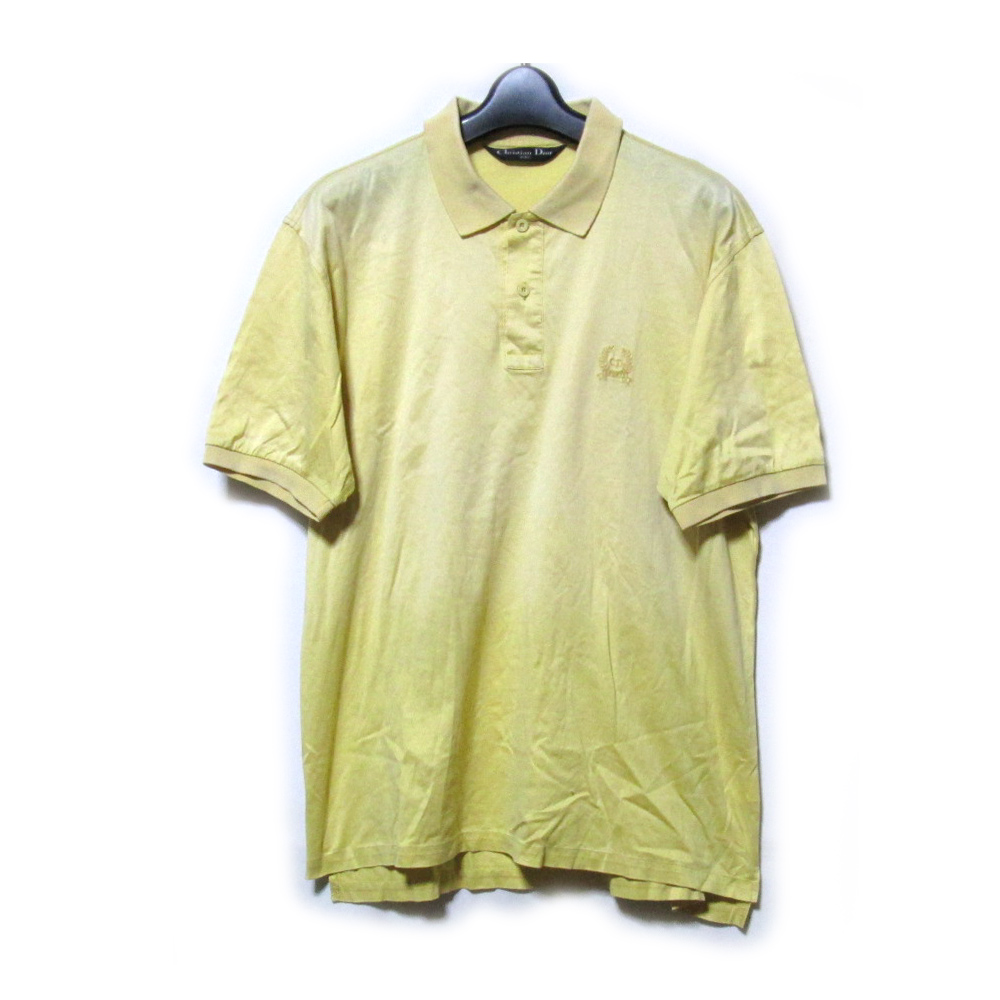 8b0a3b738 Categories. « All Categories · Men's Clothing · Tops · Polo Shirts ·  Difficulty existence [SALE] Vintage Christian Dior ...