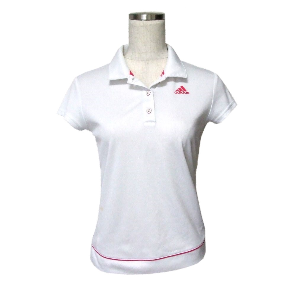 adidas polo t shirt white