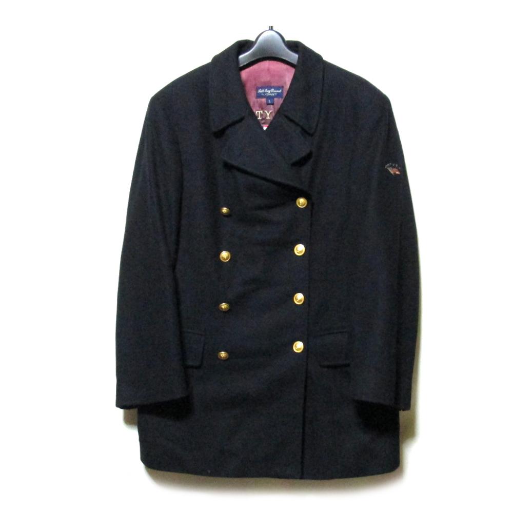 GANT ガント 「L」 クラシックピーコート (紺 ネイビー 金ボタン ジャケット) 110463 【中古】