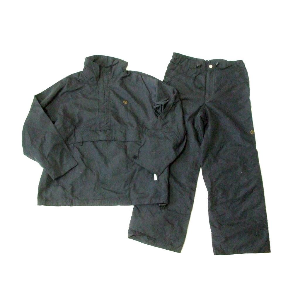 \3980以上購入で 送料無料 SASQUATCH サスクワッチ スノーボードセットアップスーツ ジャケット 中古 黒 お買い得品 パンツ スキー 期間限定で特別価格 防水 111362