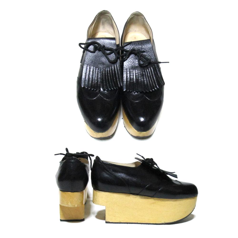 Vivienne Westwood ヴィヴィアンウエストウッド 「UK8」 ロッキンホースゴルフ (黒 シューズ 靴 メンズサイズ ) 111439  【中古】|CROWN STORE