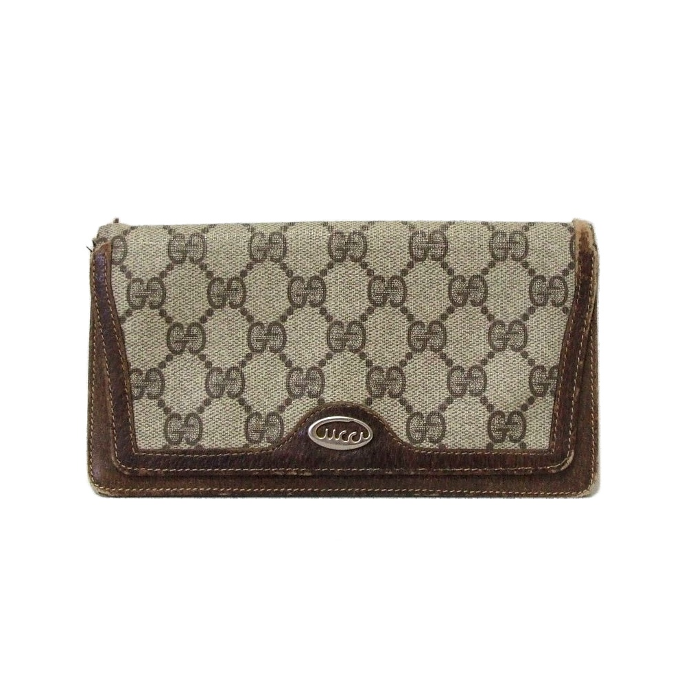 c24beb4380f3 Monogram long wallet (long wallet) made in difficulty existence [SALE]  Vintage old ...