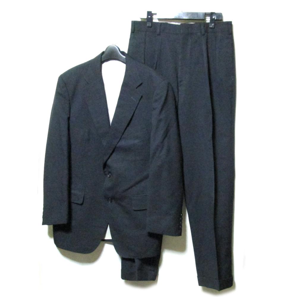 J.PRESS ジェイプレス 「YA6」 ニューイングランドモデル セットアップスーツ (黒グレー ビジネス ) 112665 【中古】