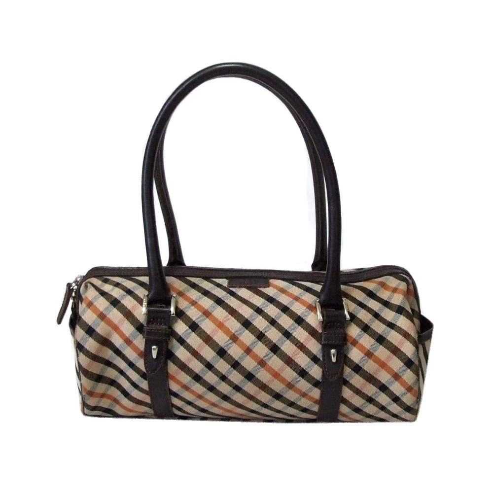 Daks Tartan Check Boston Bag The U K 112977