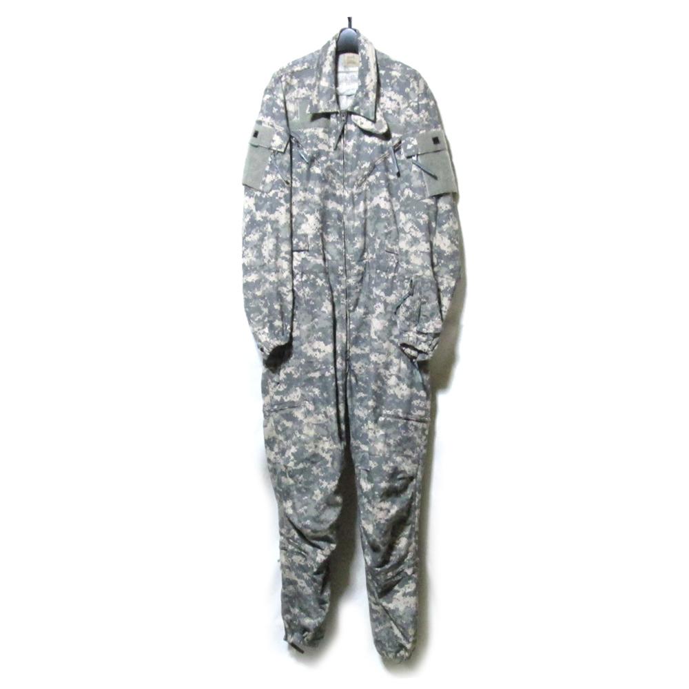 USA military 米軍 「M」 UCP迷彩ACUオーバーオール.ジャンプスーツ (カモフラージュ 実物 アーミー ミリタリー アメリカ軍 ツナギ) 113015 【中古】