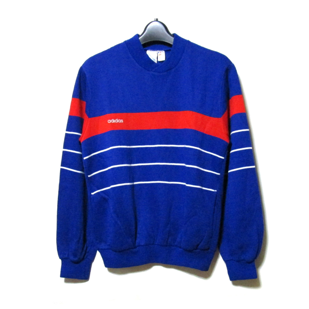 new style good texture the best attitude Line trainer (blue logo jersey blue French MADE IN FRANCE) made in Vintage  old adidas vintage old Adidas
