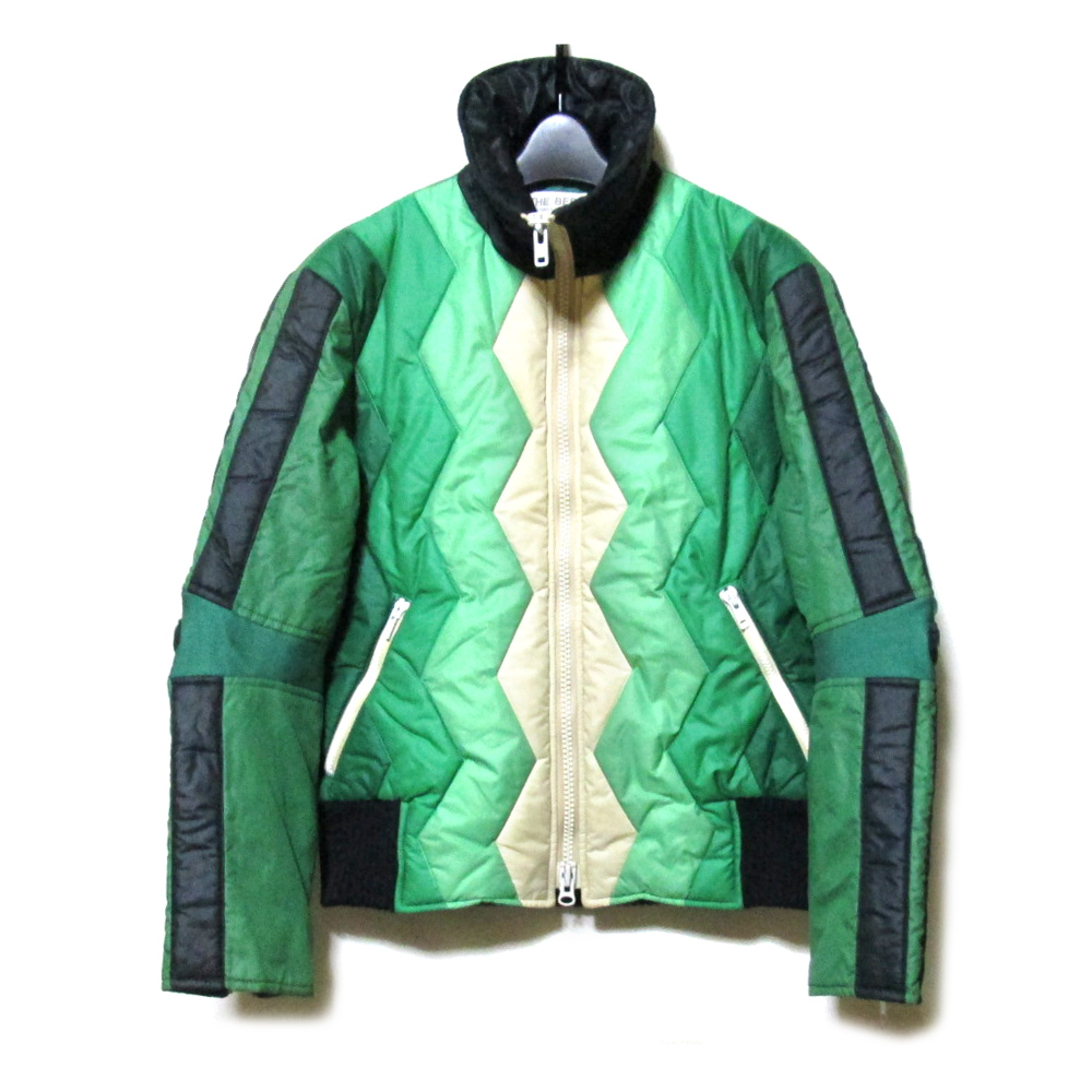 Vintage old DESCENTE ヴィンテージオールド デサント レトロライダースダウンジャケット (防寒 ブロゾン スキー ) 114229 【中古】