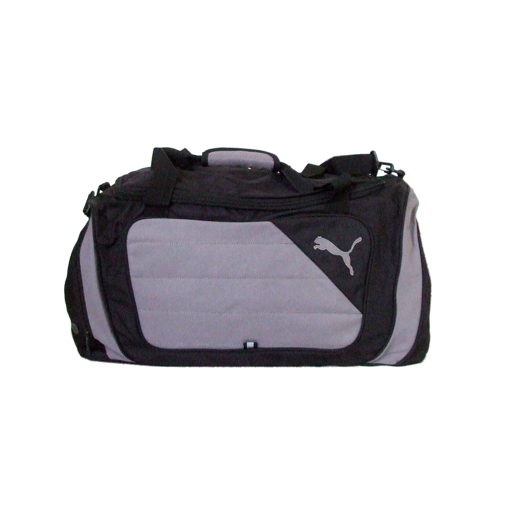 cc94c7b9edb2 PUMA Puma 2way Boston shoulder bag (black wide large pattern trip) 115857