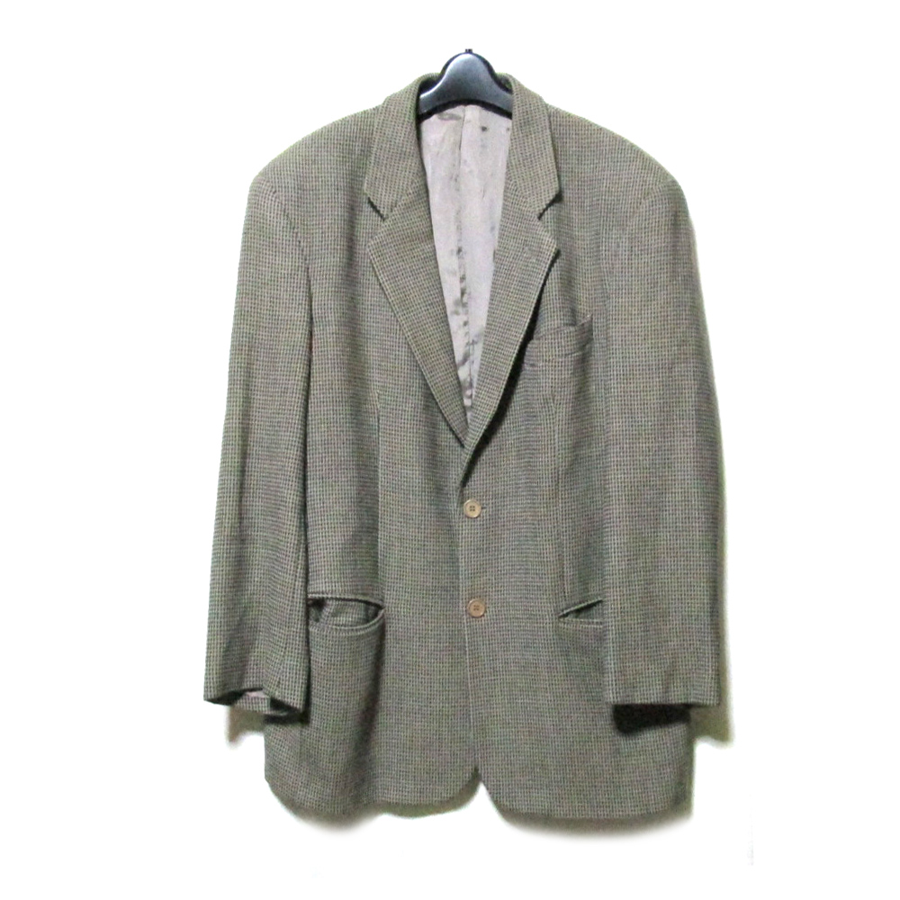 EMPORIO ARMANI エンポリオアルマーニ 「50」 定番 2Bウールジャケット (ブレザー) 115928 【中古】