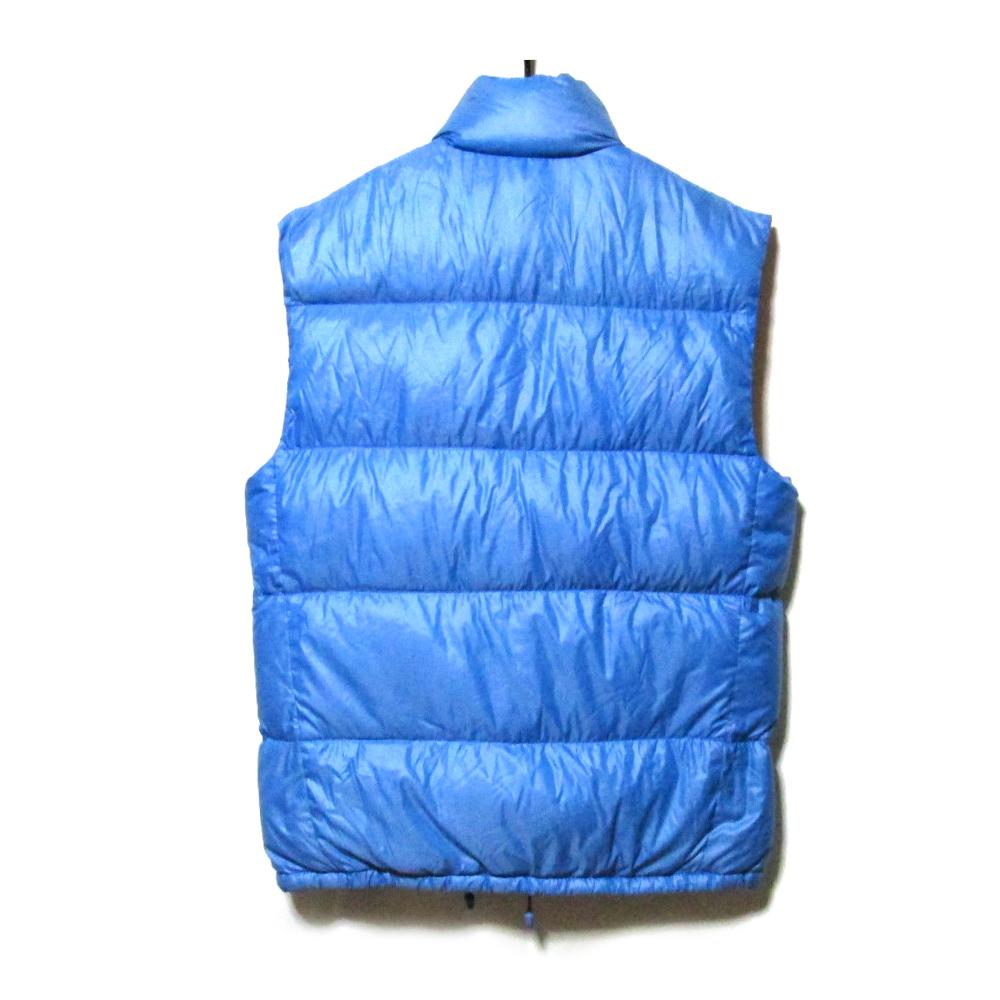 bf873bf02 Difficulty existence [SALE] Vintage old MONCLER vintage old Monk rail  nostalgic down vest. Jacket (blue red blue cold protection ski vintage  French ...