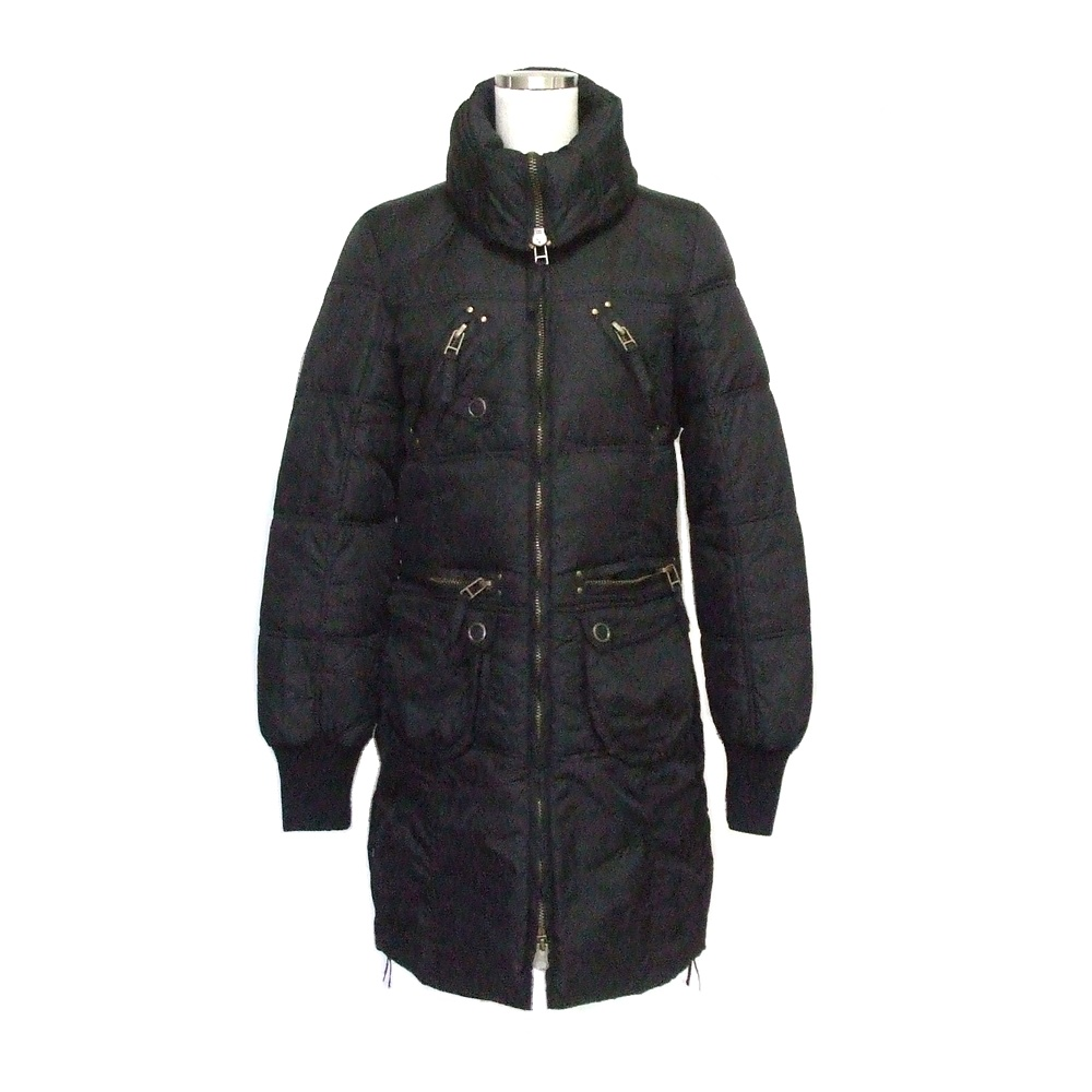 64e0ab6ebb ZARA love trf xx Zara W zip down long coat (black jacket unisex) 117459