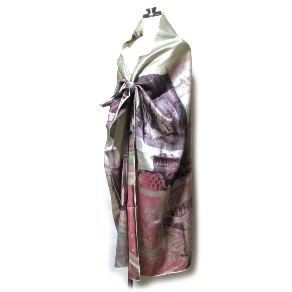 Vintage Vivienne Westwood ヴィンテージ ヴィヴィアンウエストウッド サロンワイドショールマント (宮廷 ストール スカーフ) 119137 【中古】