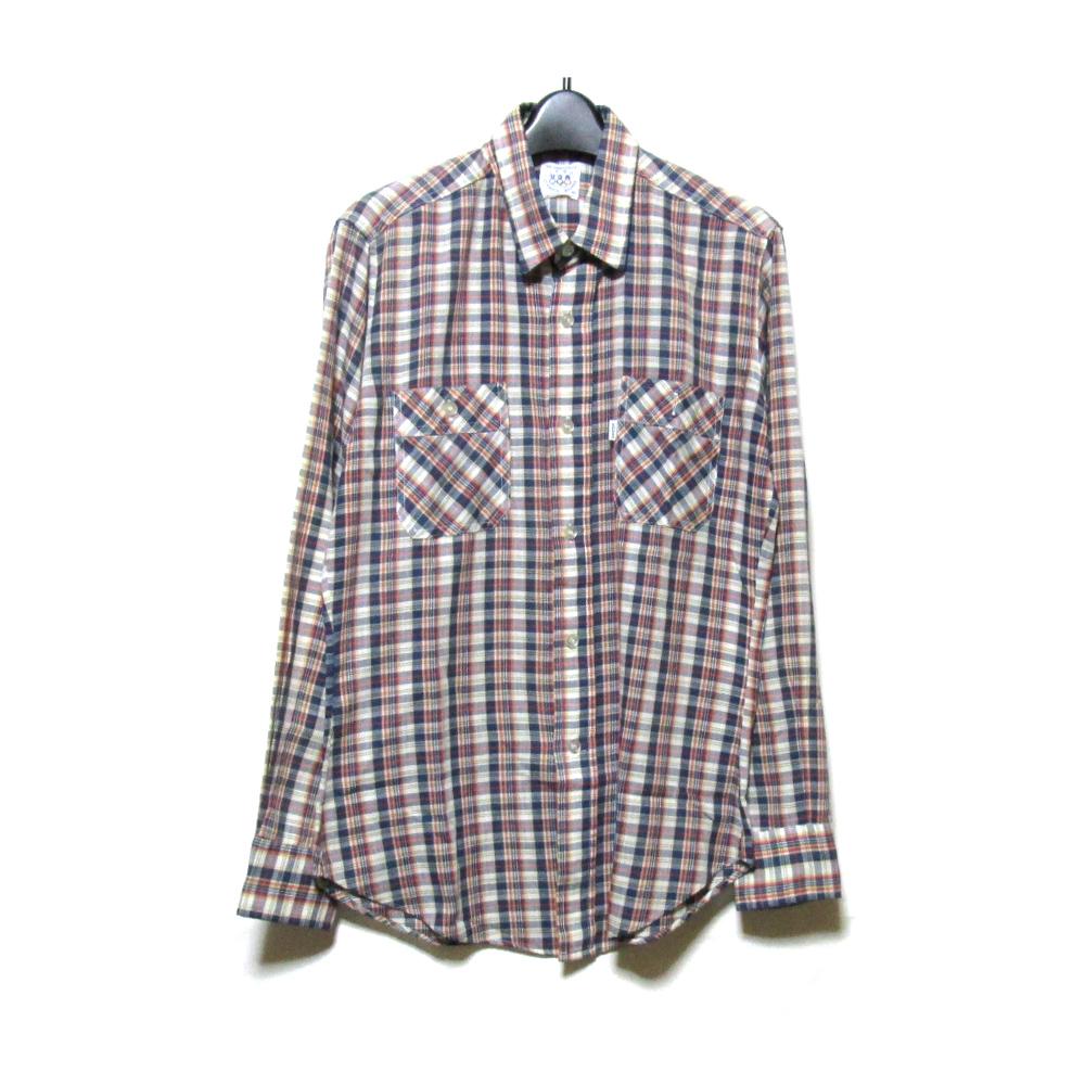 Vintage Levi's ヴィンテージ リーバイス モスクワオリンピックモデル チェックシャツ (タータンチェック ブラウス) 120295 【中古】