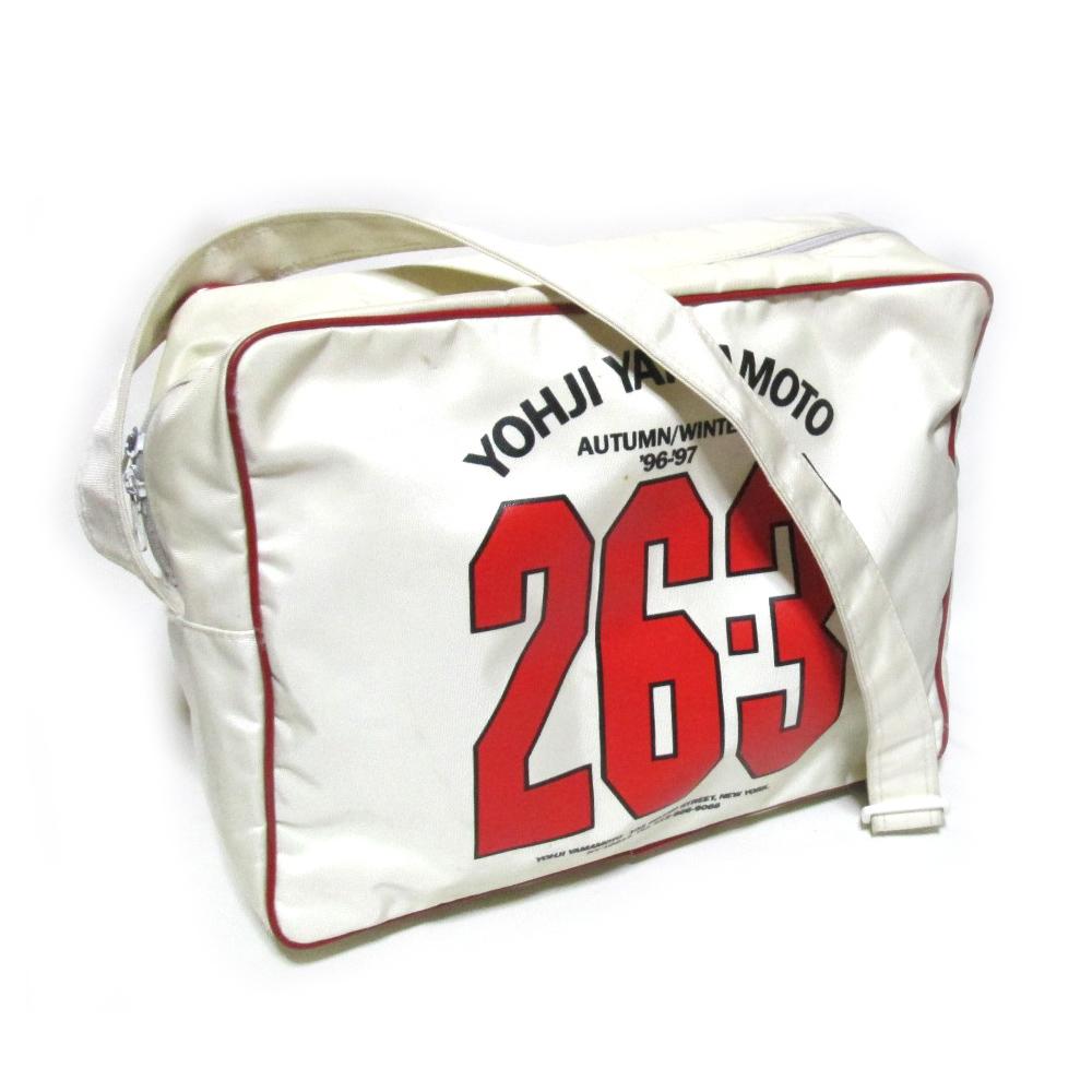 Yohji Yamamoto ヨウジヤマモト 96-97AW コレクション限定 26-3 エアライン ショルダーバッグ (山本耀司 Y's ワイズ 鞄カバン) 120335 【中古】