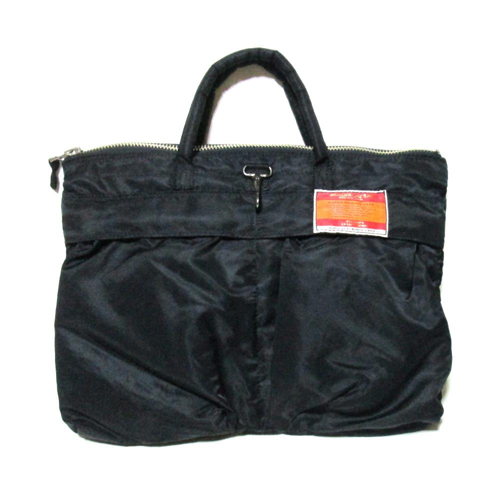 Vintage PERSON'S ヴィンテージ パーソンズ タンカーヘルメットバッグ (黒 ブラック ブリーフケース) 120445 【中古】