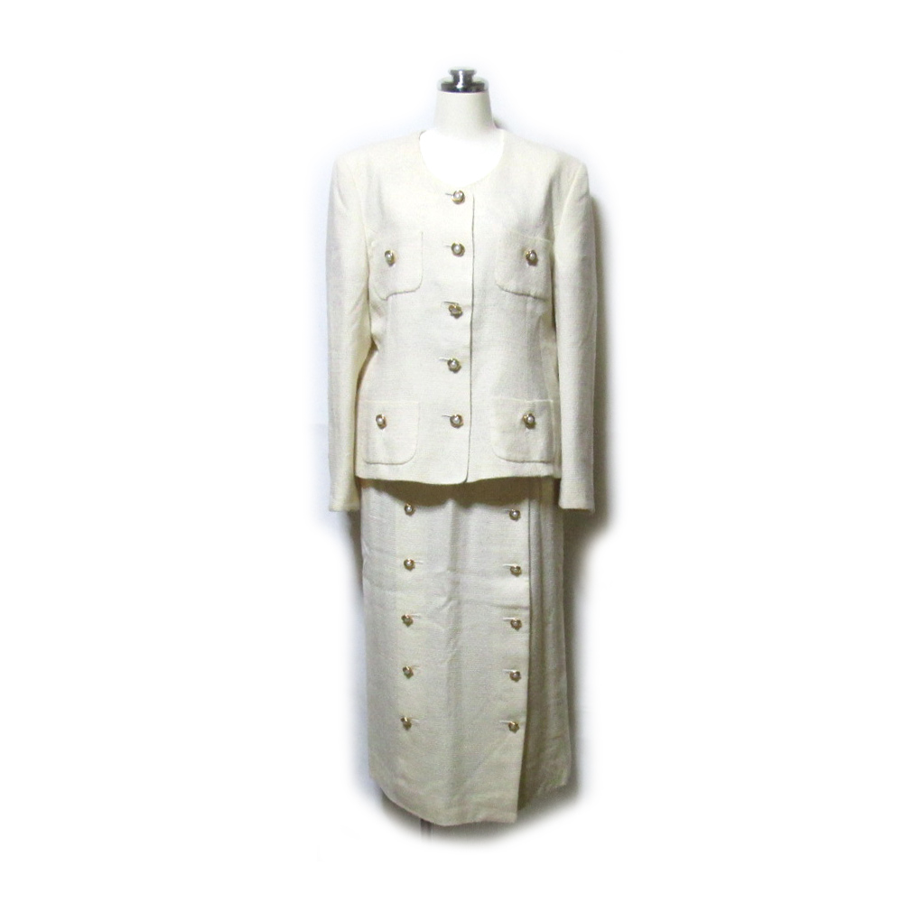Vintage INGEBORG ヴィンテージ インゲボルグ セットアップスーツ (ロングスカート PINK HOUSE ピンクハウス 金子功 KANEKOISAO カネコイサオ ユニセックス) 120741 【中古】