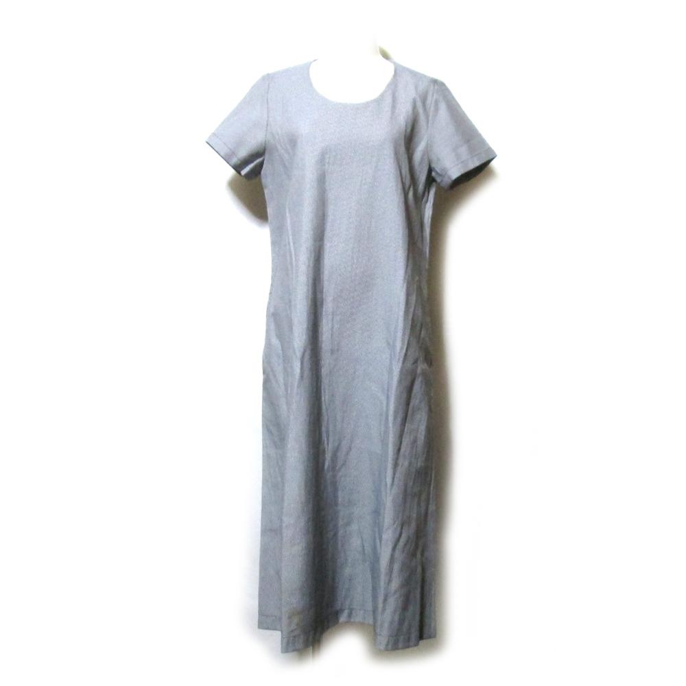 robe de chambre COMME des GARCONS ローブ ド シャンブル コムデギャルソン 1996 ロングドレープワンピース (立体裁断 半袖) 121634 【中古】