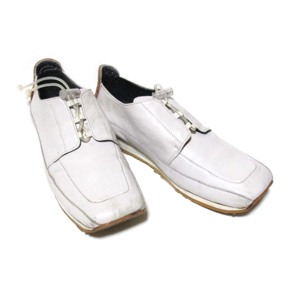 廃盤 JeanPaulGAULTIER ジャンポールゴルチエ 「24」 インレースレザードライバーズシューズ (ゴルチェ スニーカー 靴 皮 革) 123140 【中古】