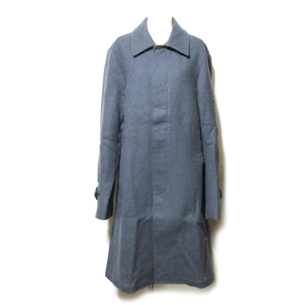 MASAKI MATSUSHIMA マサキマツシマ 「2」 ステンカラーウールコート (グレー ロング ユニセックス) 123151 【中古】