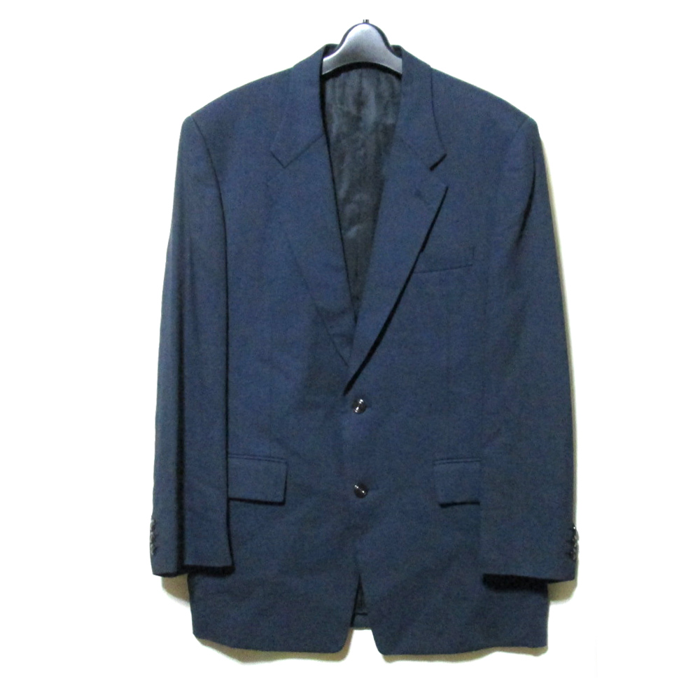 美品 Vintage monsieur NICOLE ヴィンテージ ムッシュ ニコル 「L」 クラシック2Bジャケット (紺 ネイビー ブレザー) 123240 【中古】