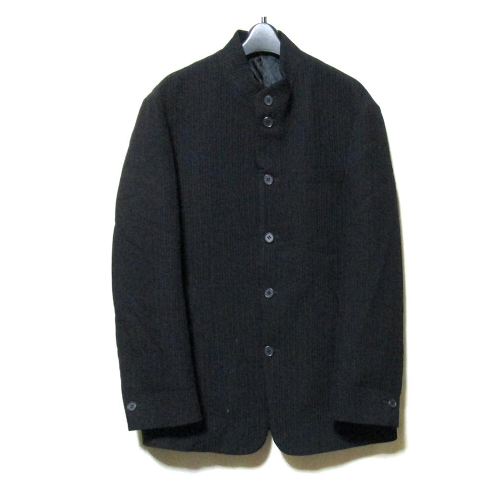 美品 MEN'S TENORAS メンズティノラス 「M」 2wayマオカラープリーツジャケット (黒 ) 123397 【中古】