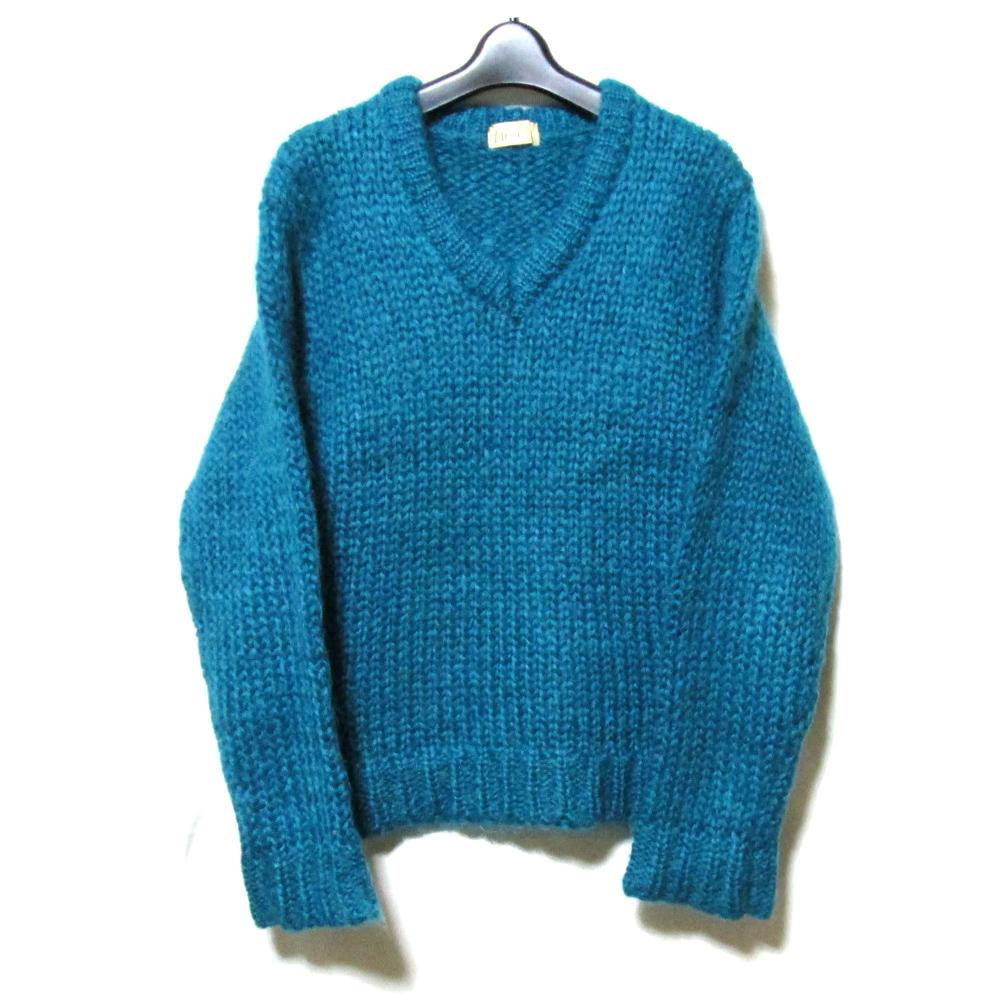 美品 Vintage monsier NICOLE ヴィンテージ ムッシュニコル ローゲージハンドニットセーター (松田光弘) 124673 【中古】