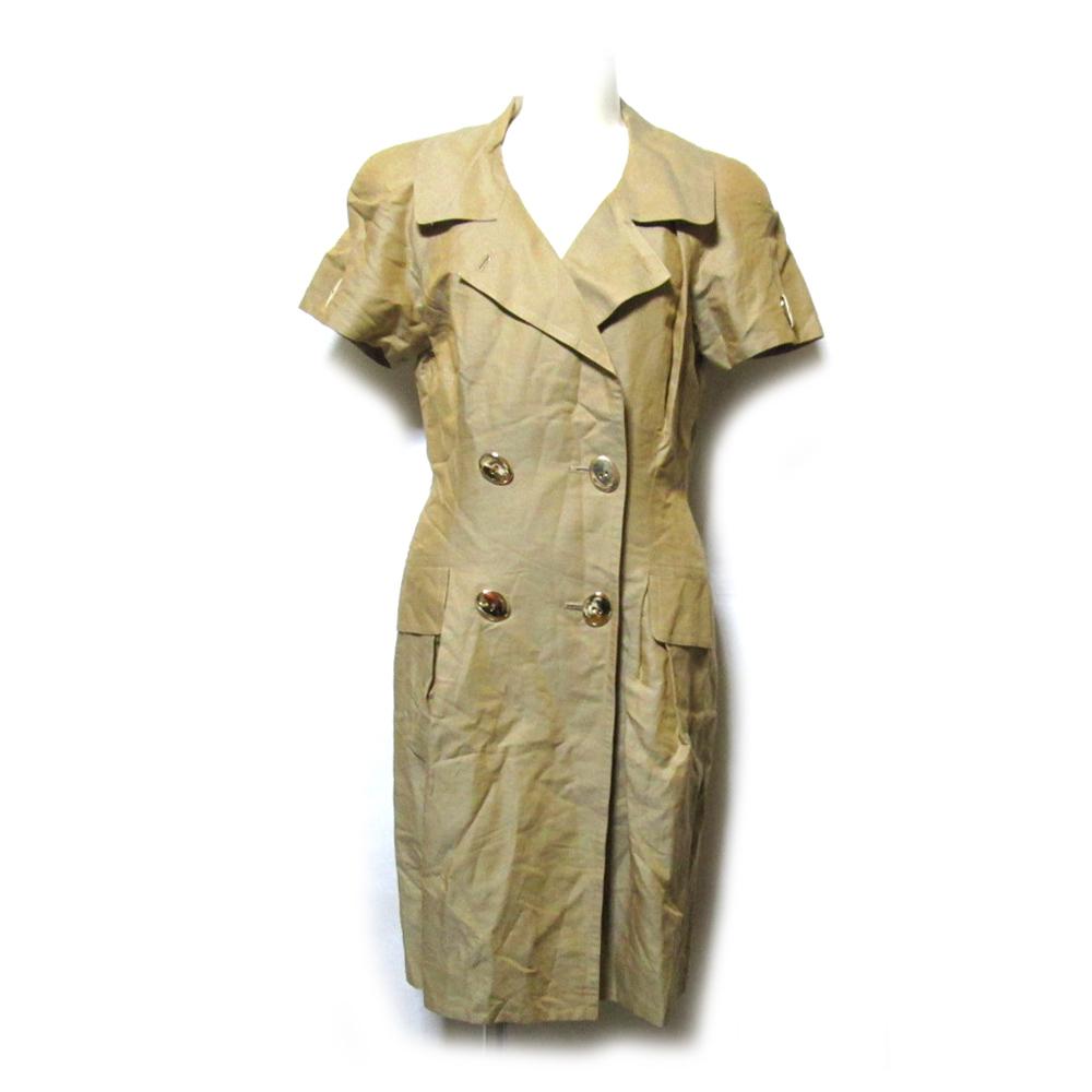 Vintage Christian Dior ヴィンテージ クリスチャンディオール 「M」 ボディコンシャスワンピース (半袖 アヴァンギャルド) 124691 【中古】
