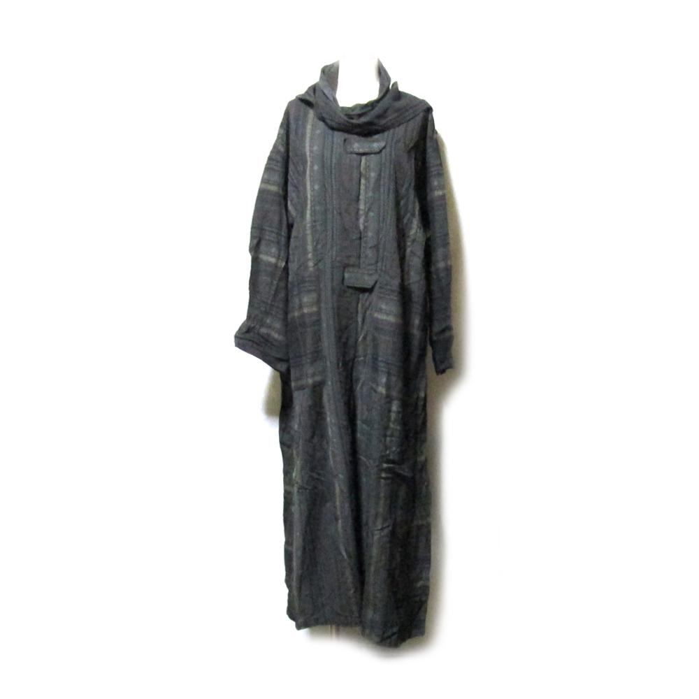 美品 色即是空 しきそくぜくう ジャポネスクオリエンタルコート (日本伝統 着物) 125203 【中古】