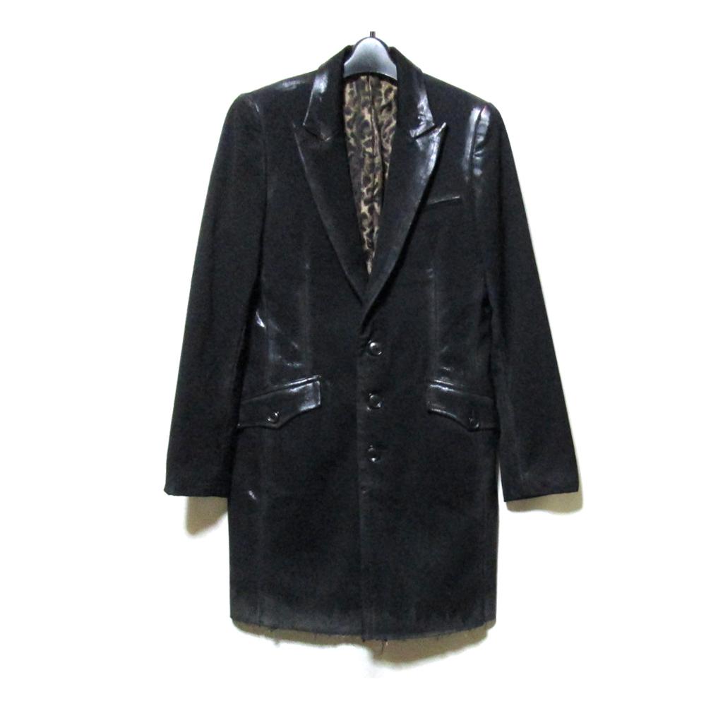 Roen ロエン グランジロングジャケット (黒) 125421 【中古】