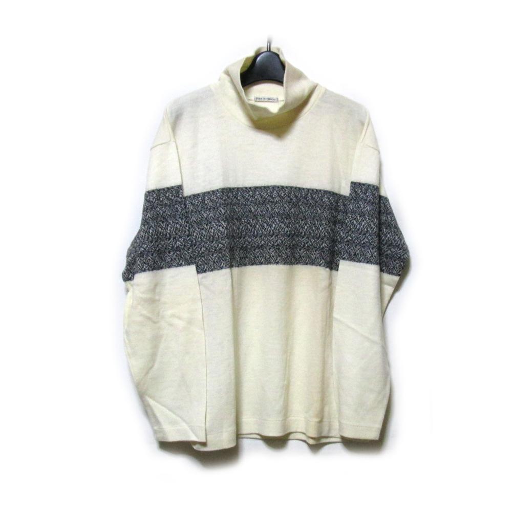 Vintage TOKIO KUMAGAI ヴィンテージ トキオクマガイ 「M」 ワイドラインニットセーター (HOMME オム) 125516 【中古】