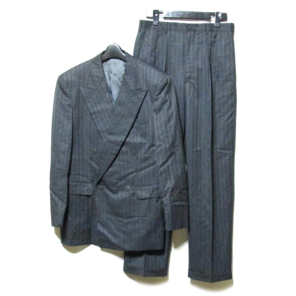 Vintage TAKEO KIKUCHI ヴィンテージ タケオキクチ 「2」 ダブルブレスセットアップスーツ (ピンストライプ) 125524 【中古】