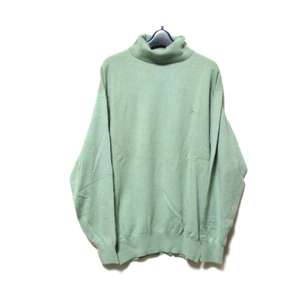 Vintage KENZO ヴィンテージ ケンゾー 「3」 カシミヤ100%ワイドニットセーター (バブル グリーン) 125530 【中古】