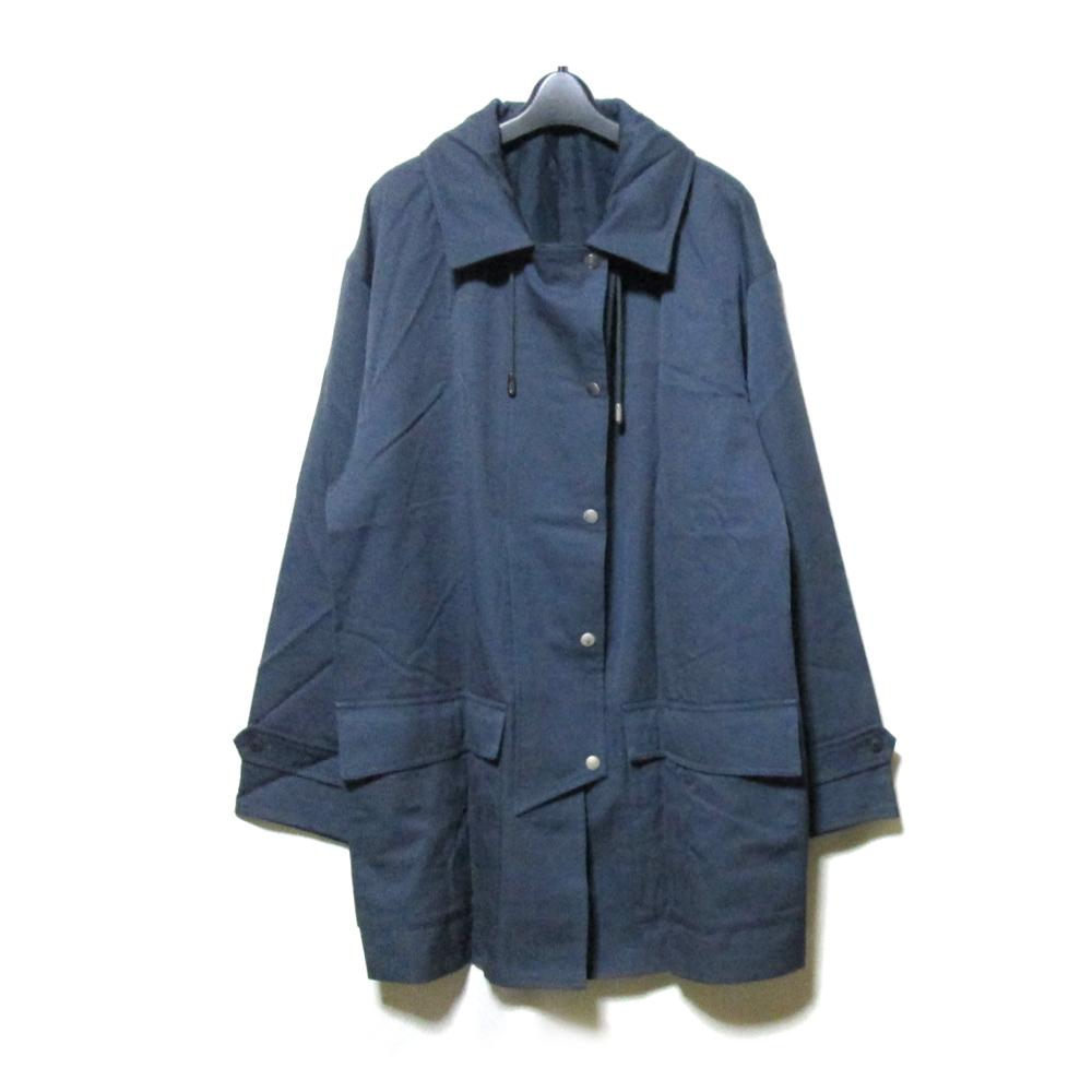 美品 Vintage KENZO ヴィンテージ ケンゾー 「F」 ワイドモッズ コート (バブル グレー) 125533 【中古】