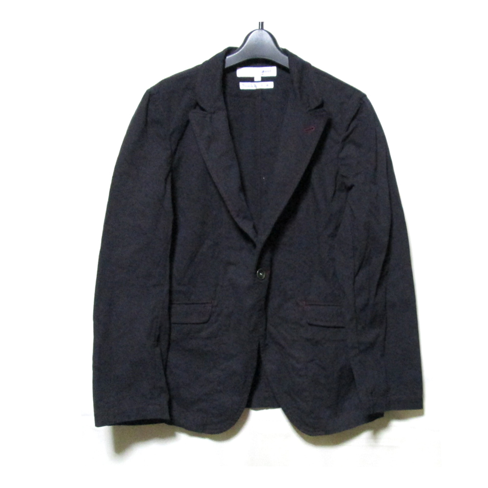 COMME des GAR?ONS SHIRT コムデギャルソン シャツ 「S」 フランス製 製品染ジャケット (紺 ネイビー コットン) 125535 【中古】
