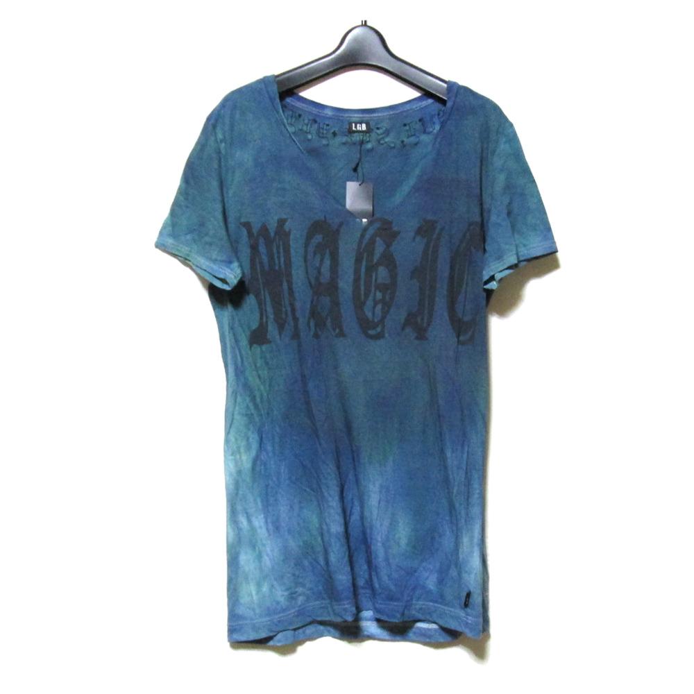 美品 L.G.B. ルグランブルー 「2」 アナーキーグランジTシャツ (半袖 タグ付き) 125945 【中古】