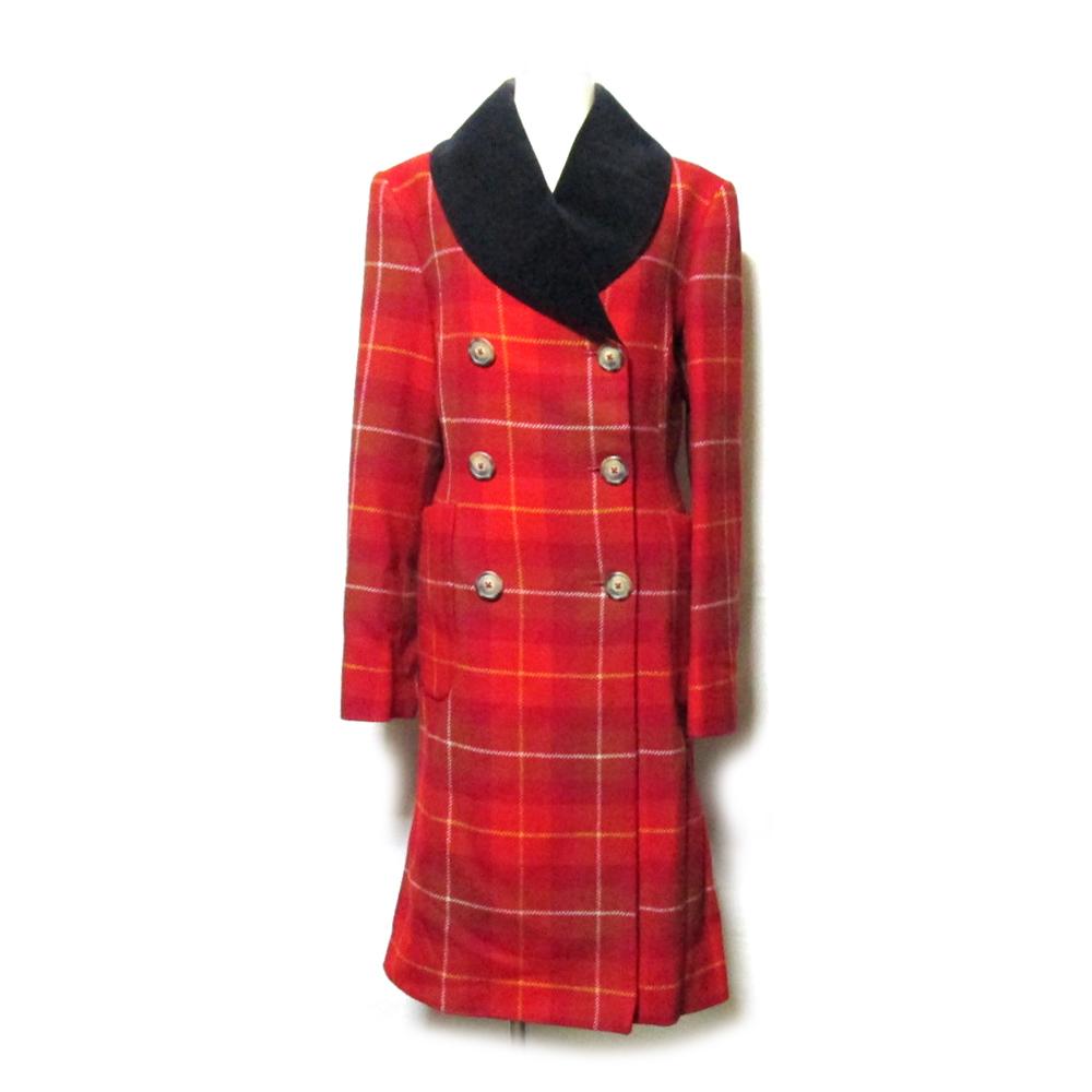 美品 Anglomamia Vivienne Westwood アングロマニア ヴィヴィアンウエストウッド 「40」 イタリア製 プリンセスコート 126091 【中古】