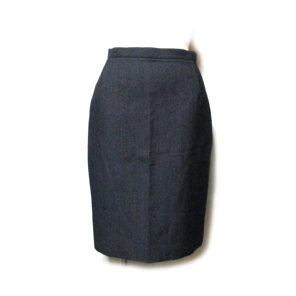 美品 Jean Paul GAULTIER ジャンポールゴルチエ 「40」 イタリア製 ドレープスカート (ゴルチェ グレー ) 126306 【中古】