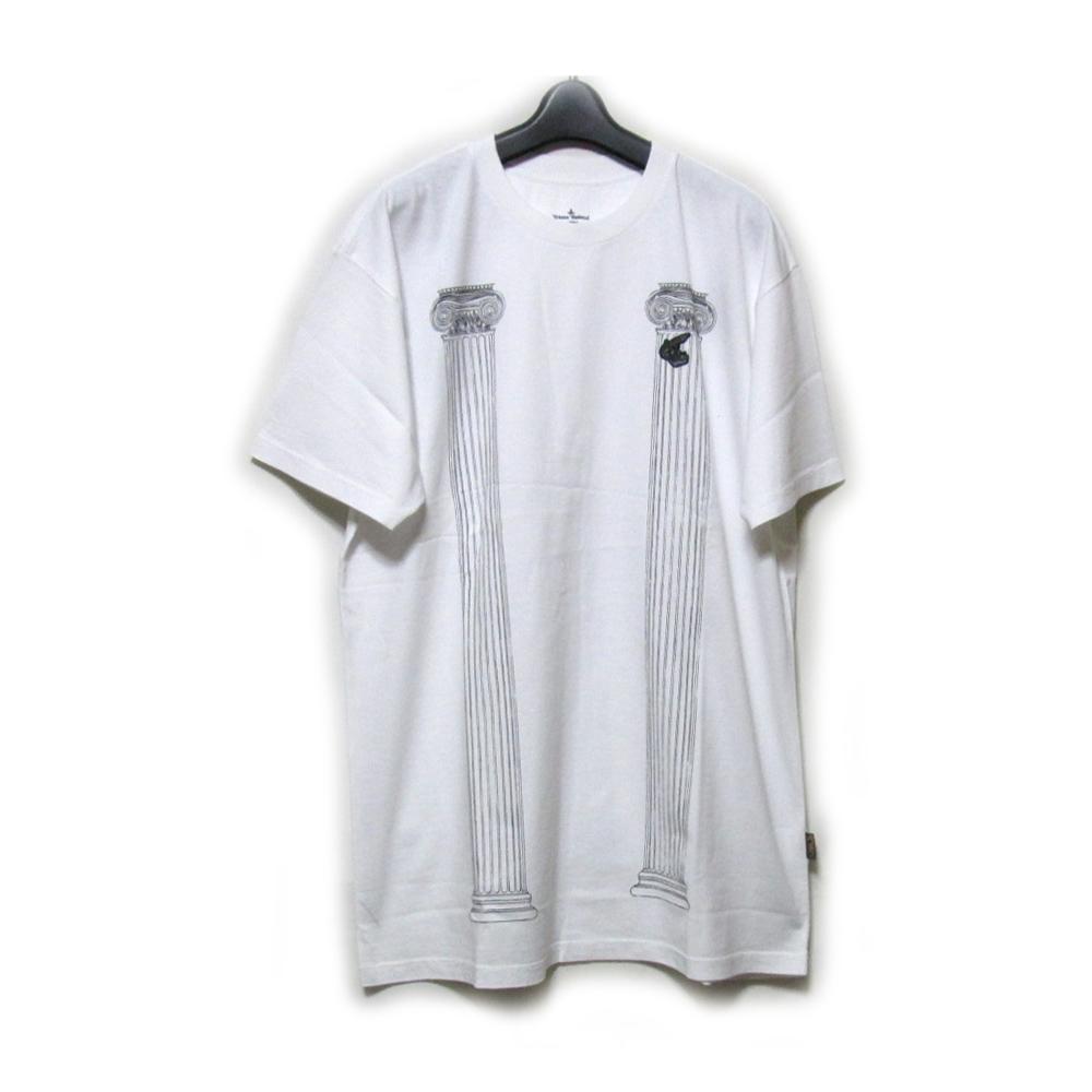 【新古品】 Anglomania Vivienne Westwood アングロマニア ヴィヴィアンウエストウッド 「XL」 神殿柱Tシャツ (ユニセックス 半袖) 127155 【中古】