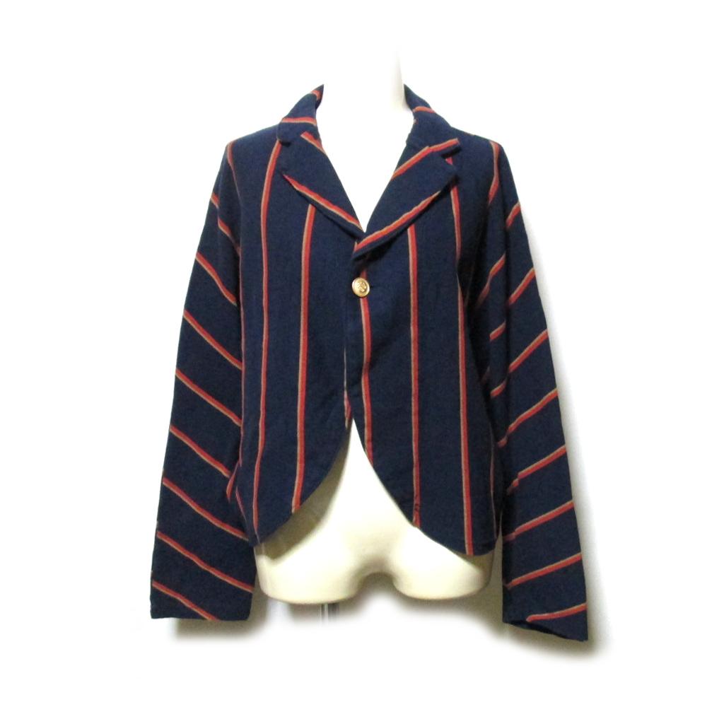 KAPITAL キャピタル 「0」 オールド スクールストライプジャケット (ショート丈) 127306 【中古】