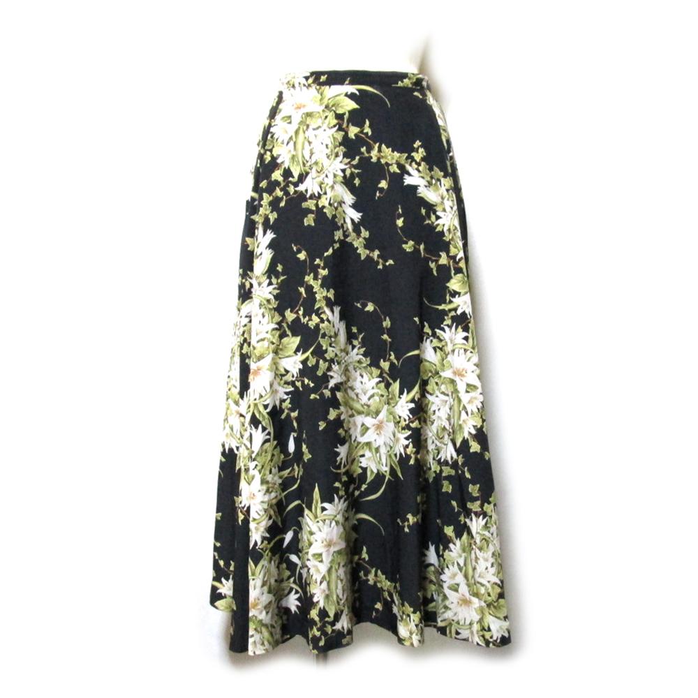 Vintage INGEBORG ヴィンテージ インゲボルグ フラワーボリュームスカート (花柄) 128369 【中古】