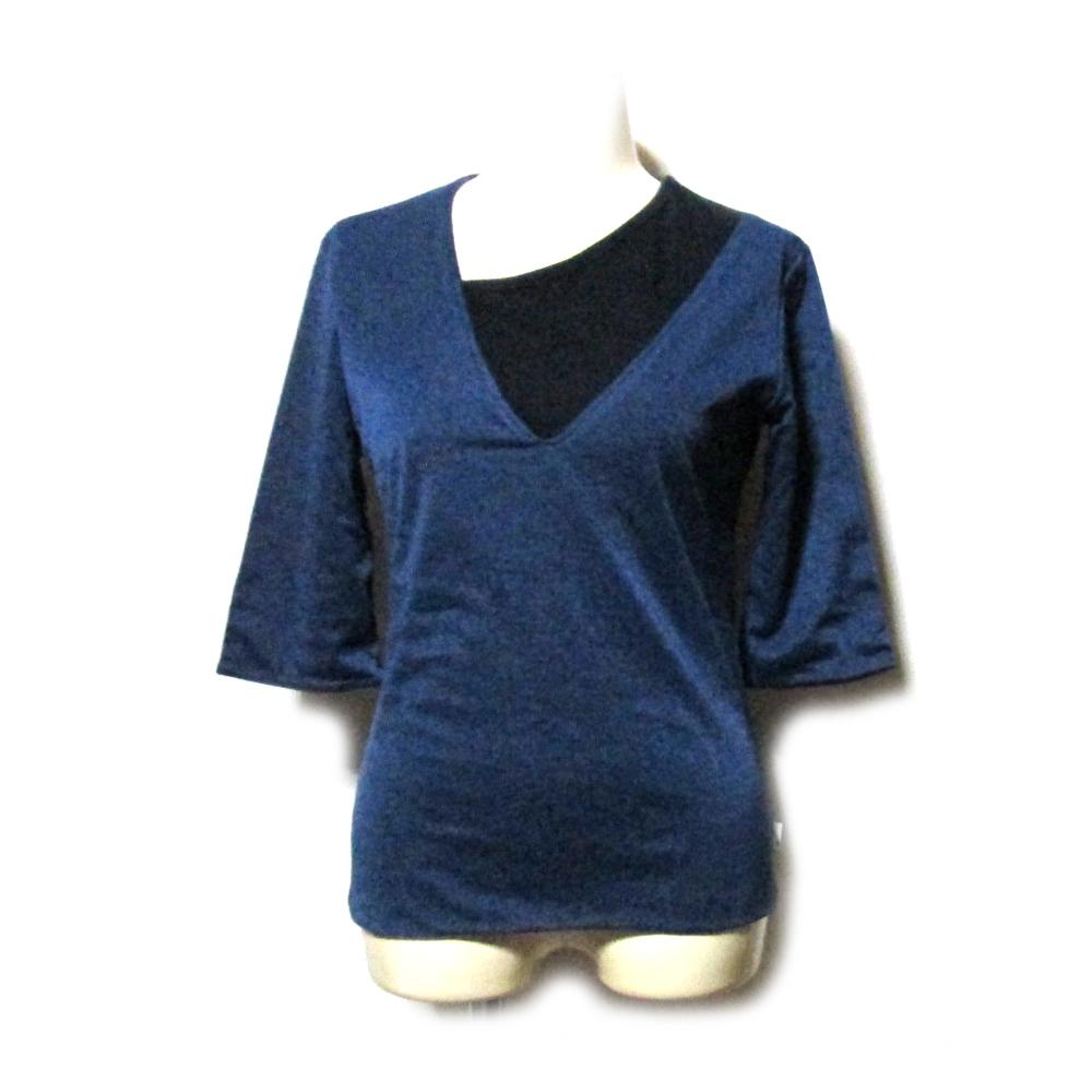 税込\3980以上購入で 注目ブランド 送料無料 Vintage Y's WXYZ ワイズ アシンメトリーカットソー Tシャツ 中古 feu Yohji 132152 ヨウジヤマモト Yamamoto 出荷 リミフゥ LIMI